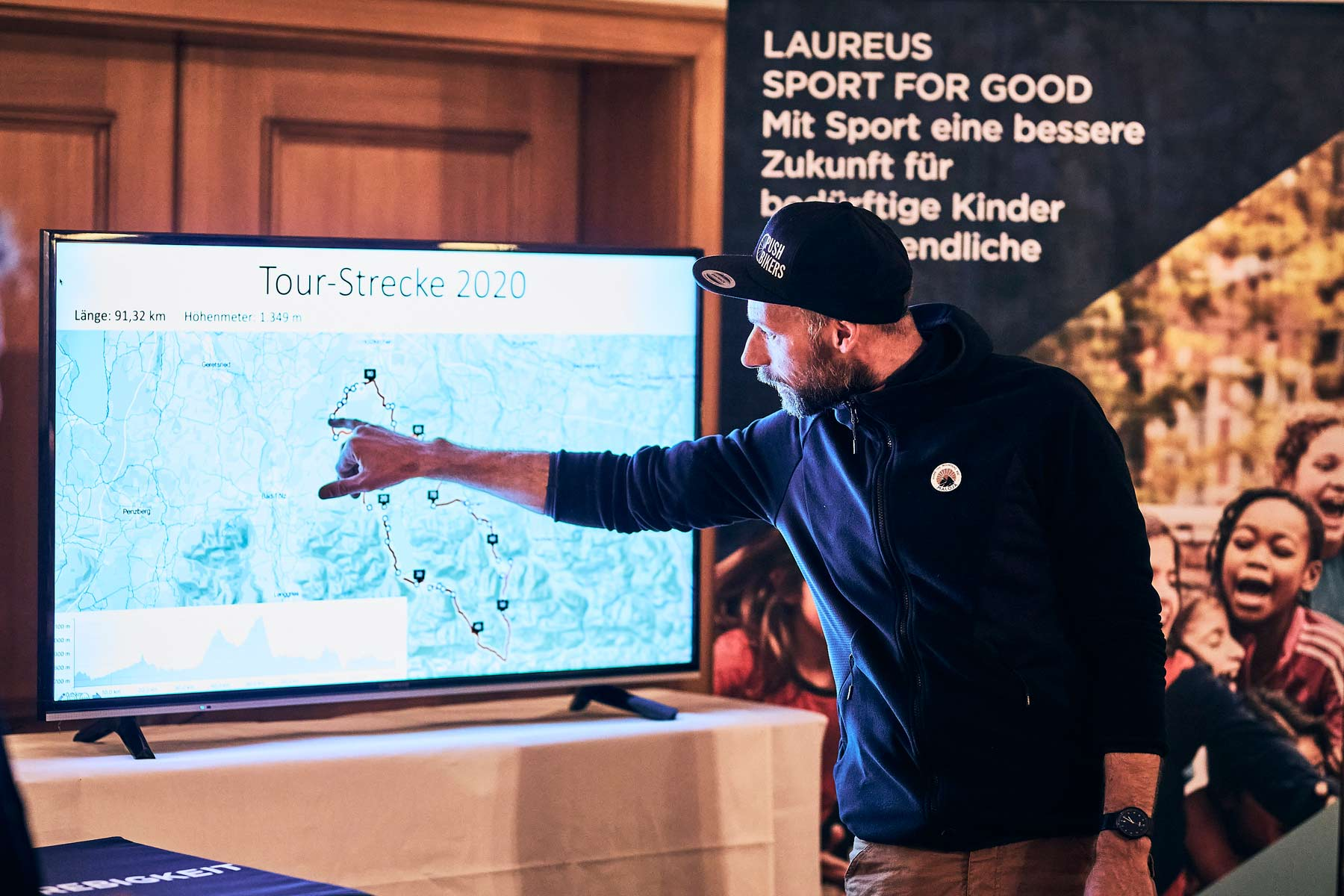 Our cooperation with Laureus Sport for Good