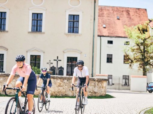 Kloster Maloja Pushbikers Ride our Routs